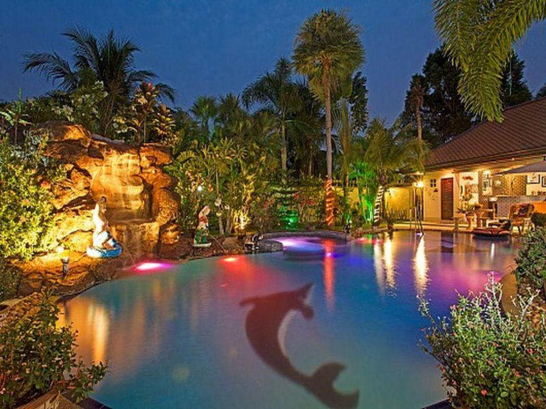 普吉岛放松别墅别墅价格b-3张床(relaxingpalmsb黄冈泳池棕榈图片
