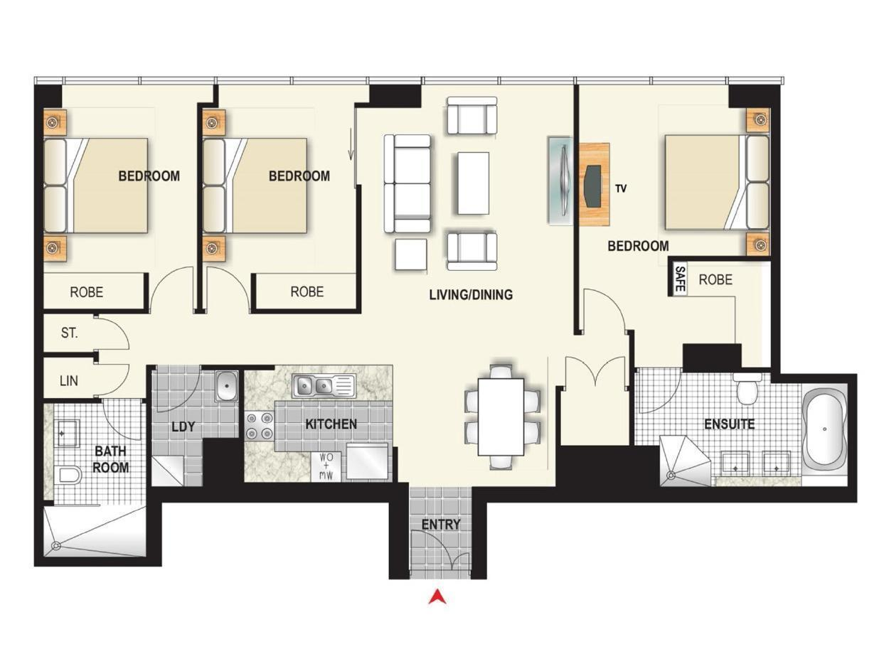 Best Price on Meriton Serviced Apartments World Tower in ...