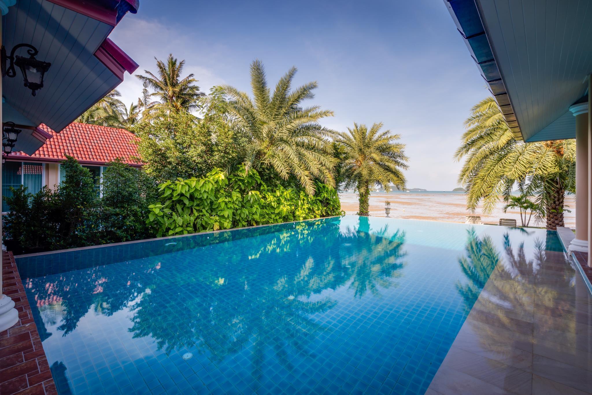 三别墅海滨别墅-带泳池(3-bedroombeachfrontvillawithpool)模拟人生欧式4卧室图片